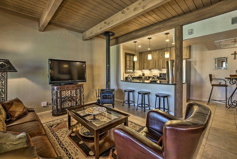 La propiedad incluye 1 dormitorio, 1 baño y capacidad para 4.