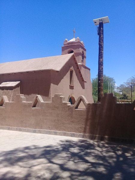 Chiesa di San Pedro de Atacama. Situato a 15 minuti a piedi da questa sistemazione.
