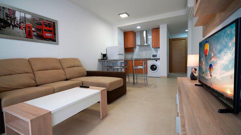 AS Apartamentos 3ºC (Sin vistas al mar), vacation rental in El Morche