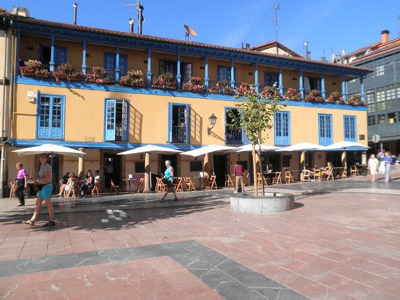 Terrazas, en el Mercado de El Fontán.