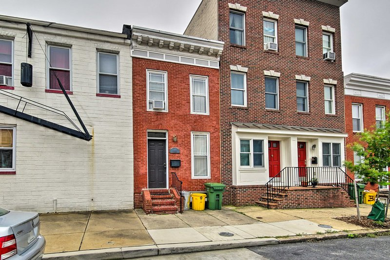 This adorable property is just minutes from the Patapsco River!