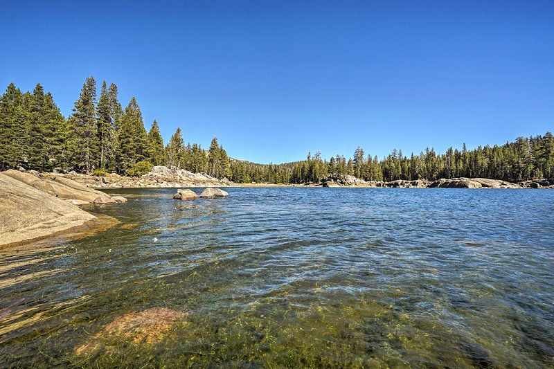 You'll fall in love with the Sierra Nevada mountain region from this cabin!