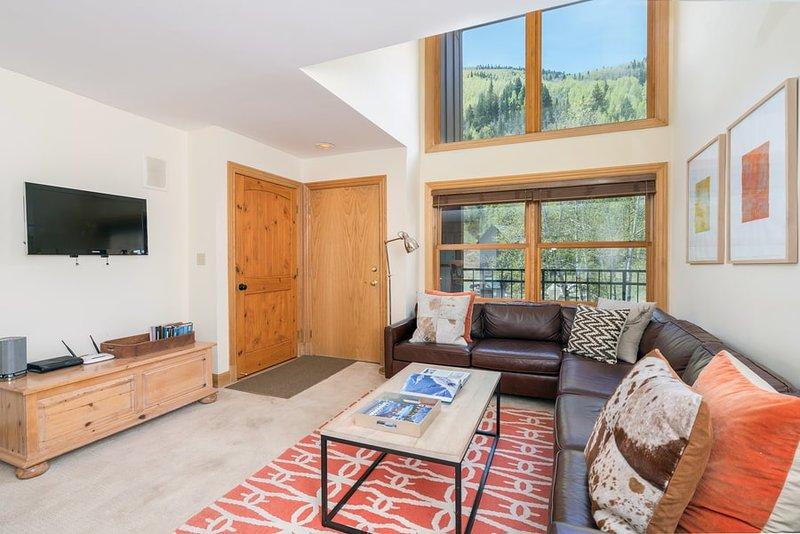 Cimarron Lodge 15 is a true ski in/ski out condo located at the bottom of Chair 7 in Telluride, Colorado.