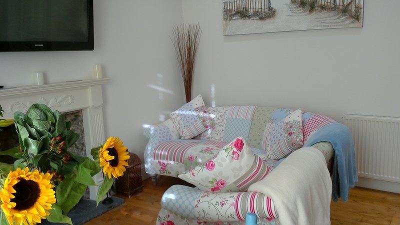 Comodo divano in soggiorno / sala da pranzo
