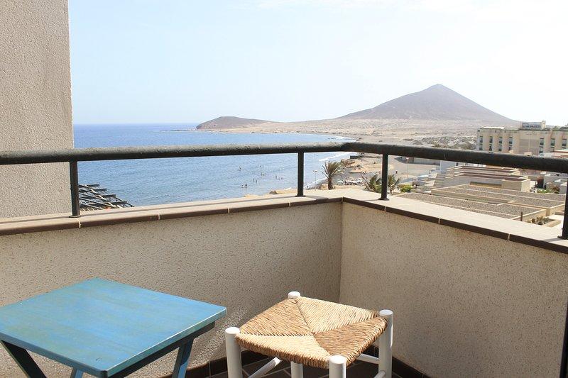 El Médano. Spectacular terrace and sea views II, holiday rental in El Medano