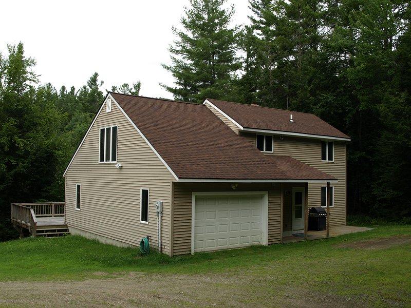 Comfortabel landhuis met uitzicht op kabbelende beek