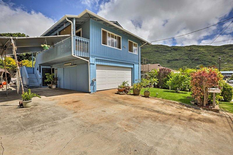 ¡Esta casa de vacaciones está idealmente ubicada para cualquier actividad en la isla!