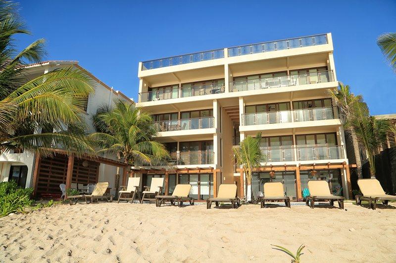 Nikte is a BRAND NEW beachfront property.