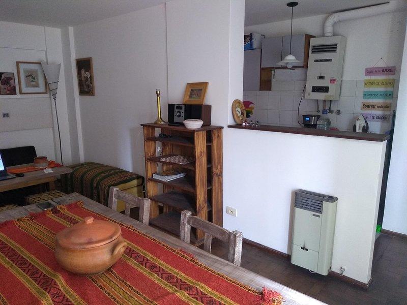 Hermoso depto Córdoba EXCELENTE UBICACIÓN -  / WIFI / TV / AA, location de vacances à Ongamira