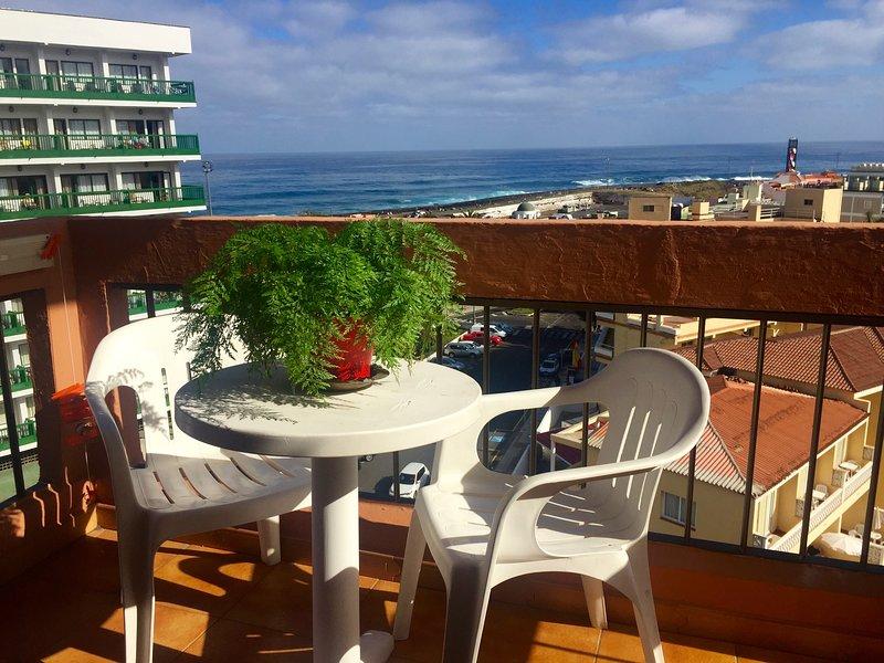 Ocean sea view studio, holiday rental in Punta Brava