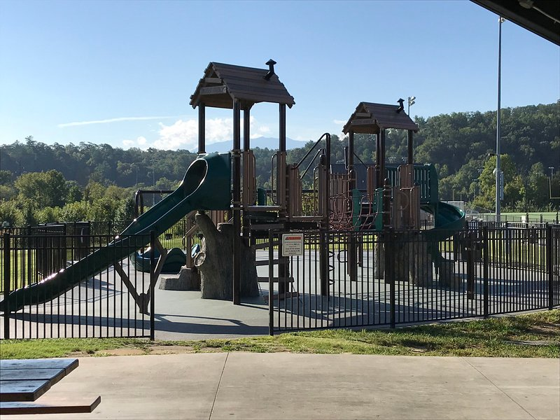 One of Two Wear Farm Parks Playgrounds.