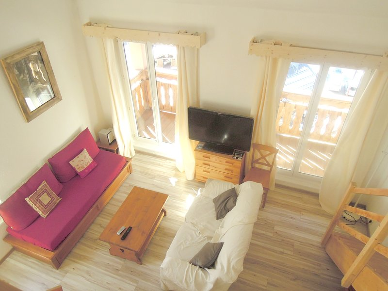 Amazing apt - 50 m from the slopes, vacation rental in Saint-Etienne-de-Tinee