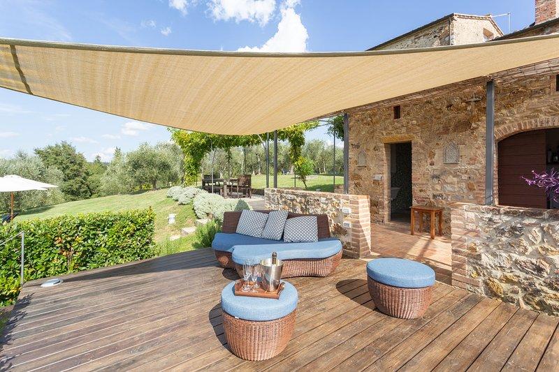 Villa Colomba, vacation rental in Trequanda