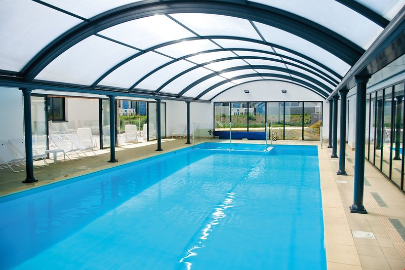 Fancy a swim? Take a dip in the indoor pool.
