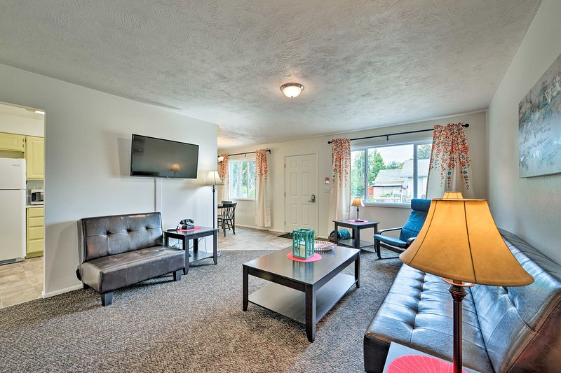 Updated Apt w/Patio - Mins to Lake & Downtown, alquiler de vacaciones en Rexburg