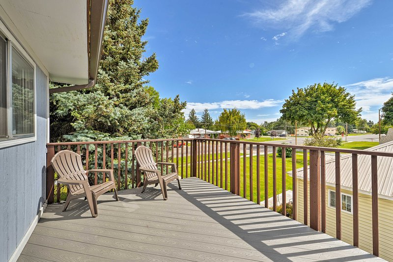 Cozy Rigby Apartment Near Lake & Yellowstone!, alquiler de vacaciones en Rexburg