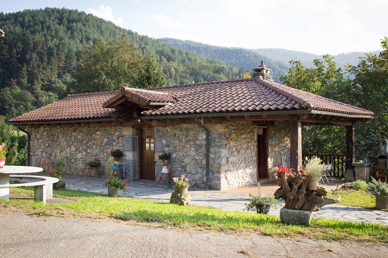 Apartamento a 20 minutos de San Sebastián Urresti- Apartamento Borda, holiday rental in Gorriti