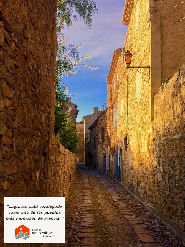 Lagrasse has been catalogued as one of the most beautiful villages in France.