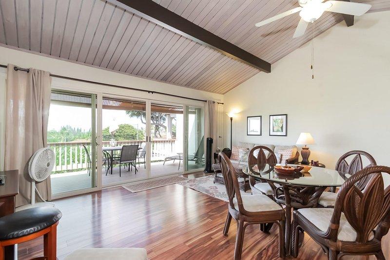 Keauhou Resort # 102 - Sala de estar