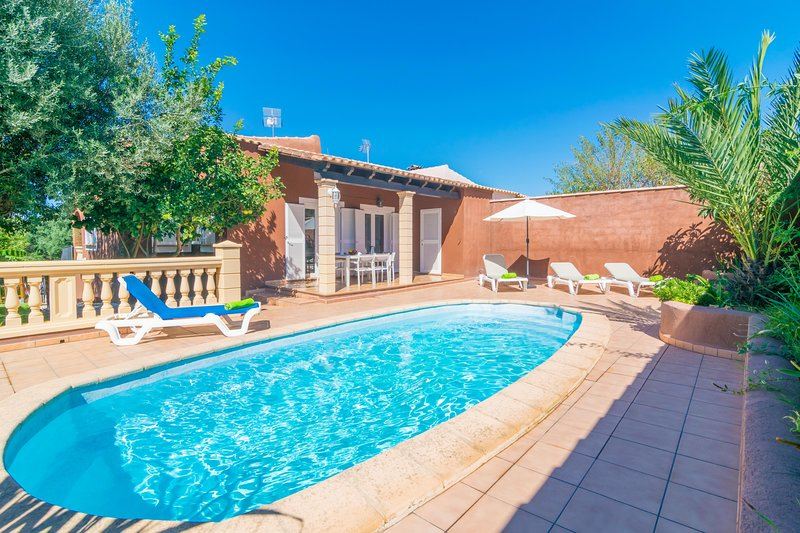 VILLA MARILDA - Villa for 6 people in Porto Cristo Novo, vacation rental in Cala Mandia