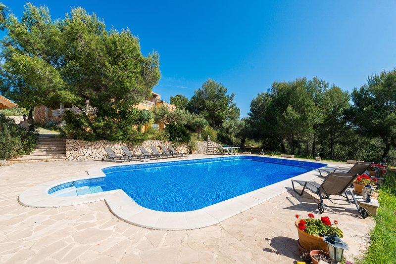 S'AGUAIT - Villa for 6 people in Porto Colom, location de vacances à Calas de Majorca