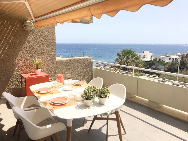Private sea view terrace