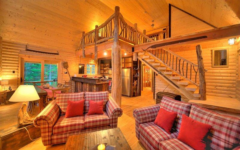 Cabin TOTEM, location de vacances à Kamouraska