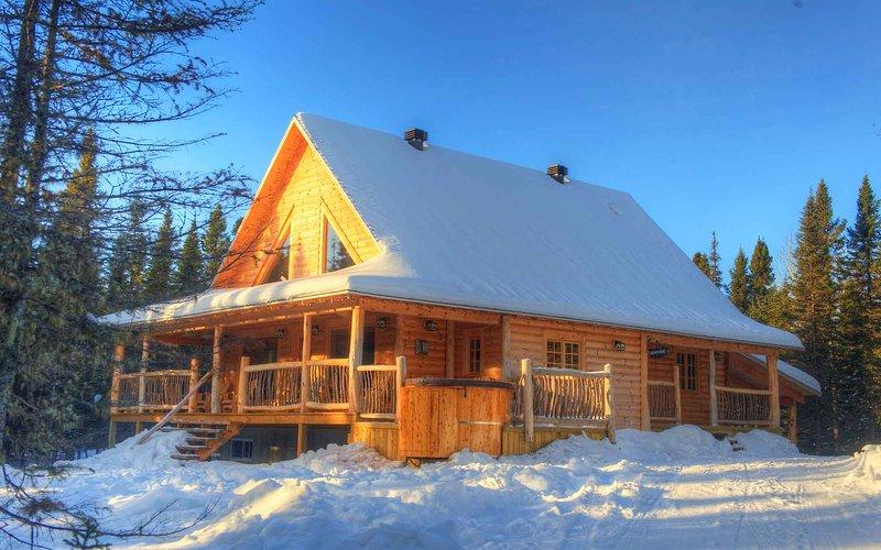 Cabin WAPITI, location de vacances à Kamouraska