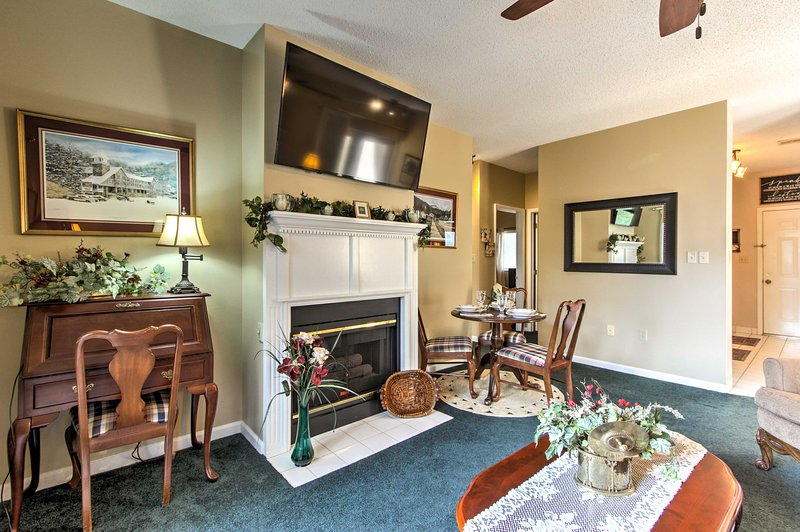 This 2-bed, 2-bath vacation rental offers up to 4 guests with a unique retreat!