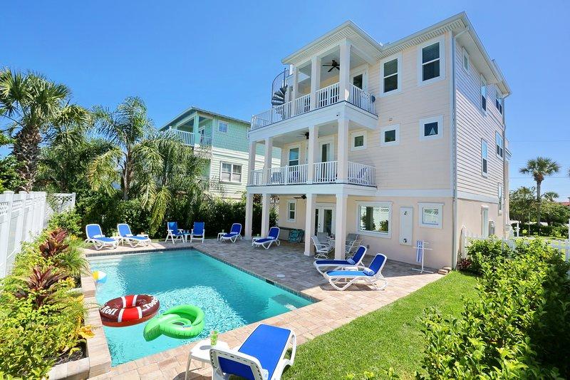 3 andares de luxo vista para o mar casa em St. Augustine Beach