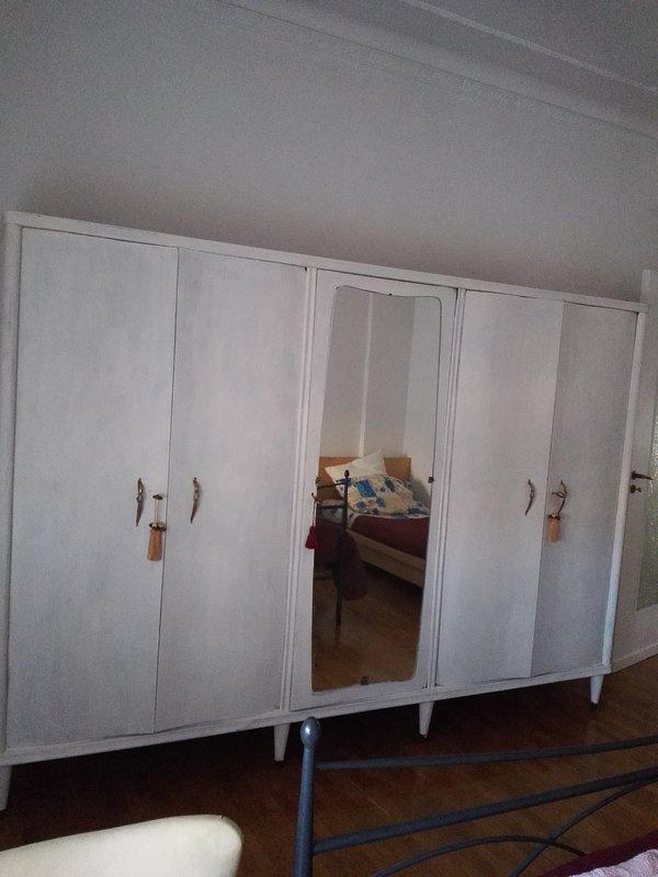 The shabby style wardrobe