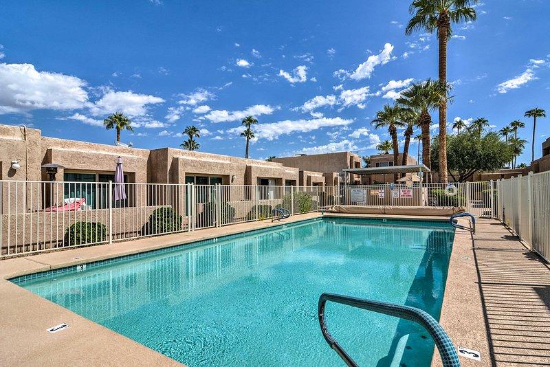 Look forward to a refreshing trip at this Arizona home.