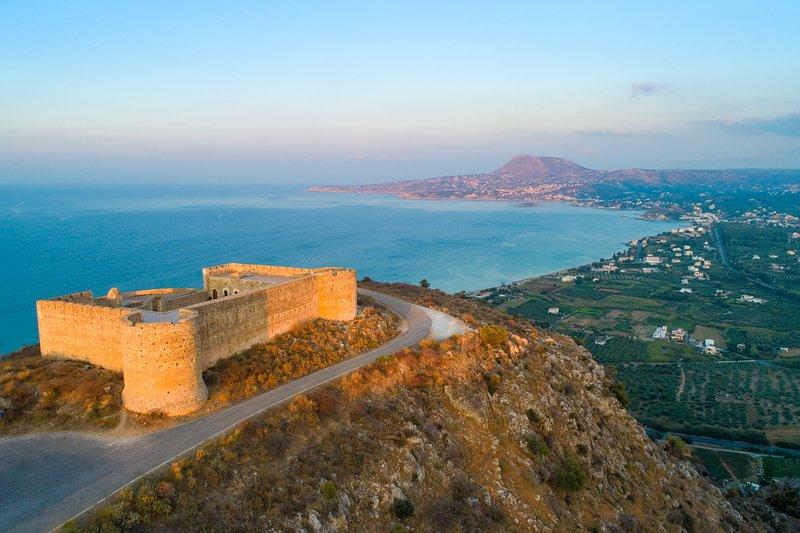 Forteresse ottomane près de la baie de Souda