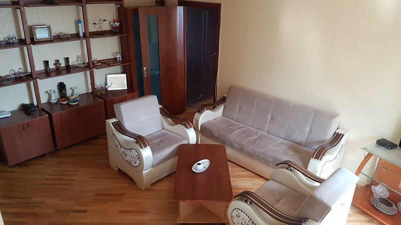 Apartment near Flame tower, vakantiewoning in Bakoe