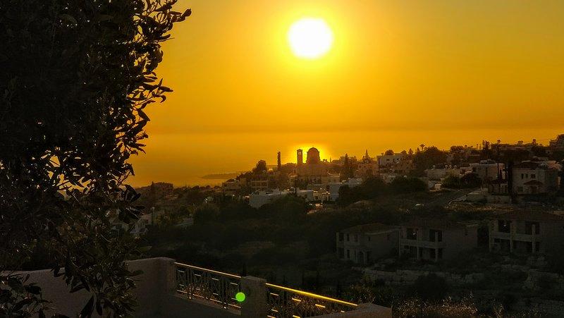 Sunset over Tala