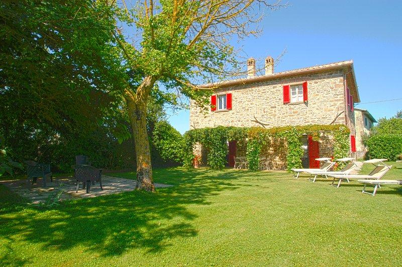 Villa il Giuggiolo: Il Bozzino, holiday rental in Piazzano