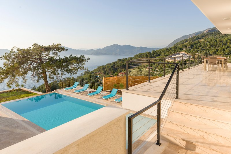 Uzunyurt Villa Sleeps 12 with Pool and Air Con - 5678613, holiday rental in Uzunyurt