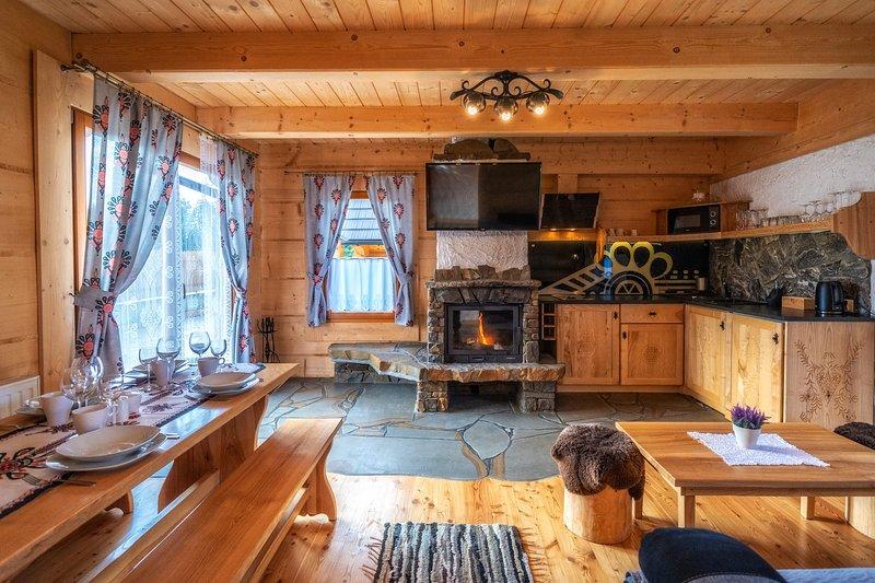Domki Ze Hej z Sauną, holiday rental in Czarna Gora