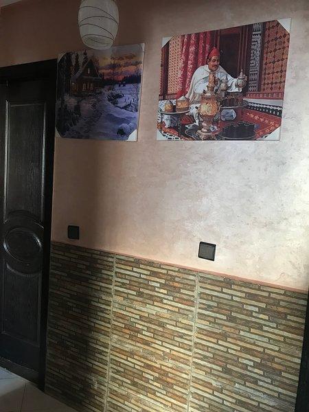 Bel appartement meublé à louer, alquiler de vacaciones en Nouaceur