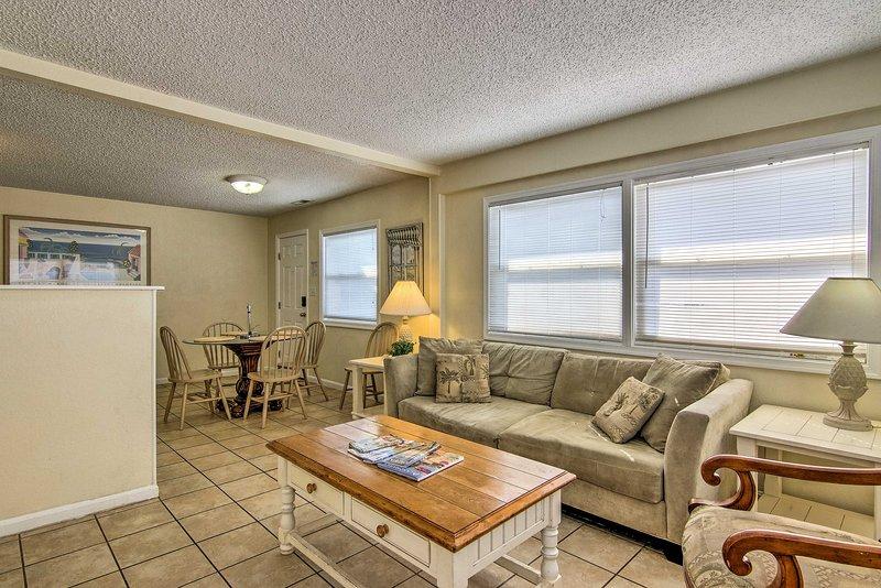 Questo condominio 746 piedi quadrati dispone di 2 camere da letto e 2 bagni per 8 ospiti!