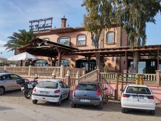 """restaurante """"Lo Pepe Molina"""" ponto de encontro com os hóspedes no dia da chegada"""