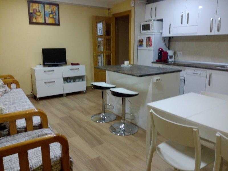 piso amplio y comodo con 3 dormitorios, centro Leon, alquiler de vacaciones en Provincia de León