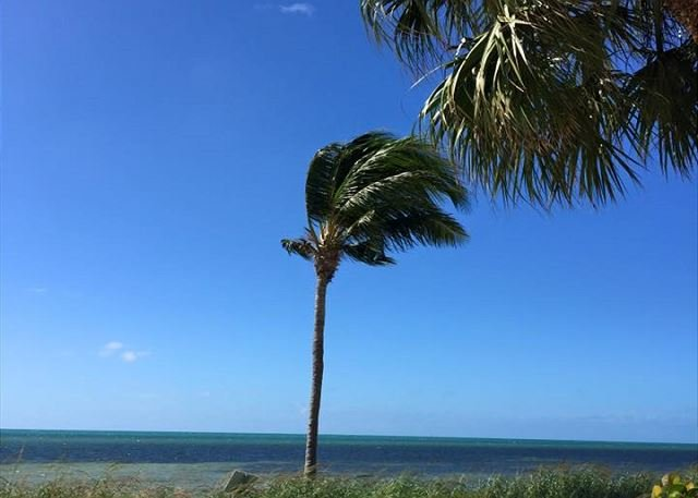 Havsutsikt från din privata soliga strand
