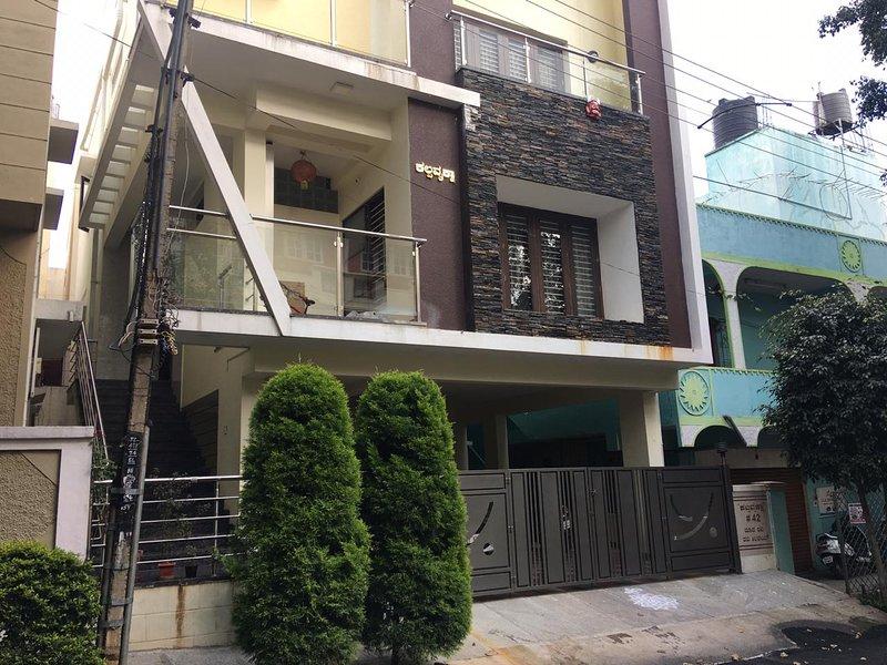 1 BHK independant house. Newly constructed in Bengaluru, karnataka, India, holiday rental in Nelamangala