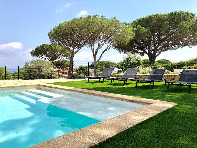 Villa Heaven Blue terrasse piscine