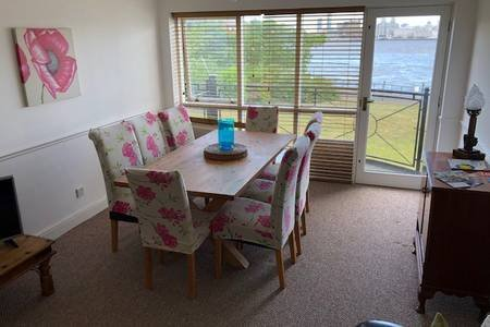 Dining area with excellent views
