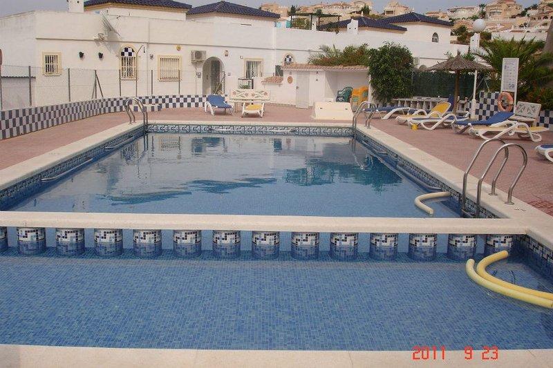 Área de piscina compartida