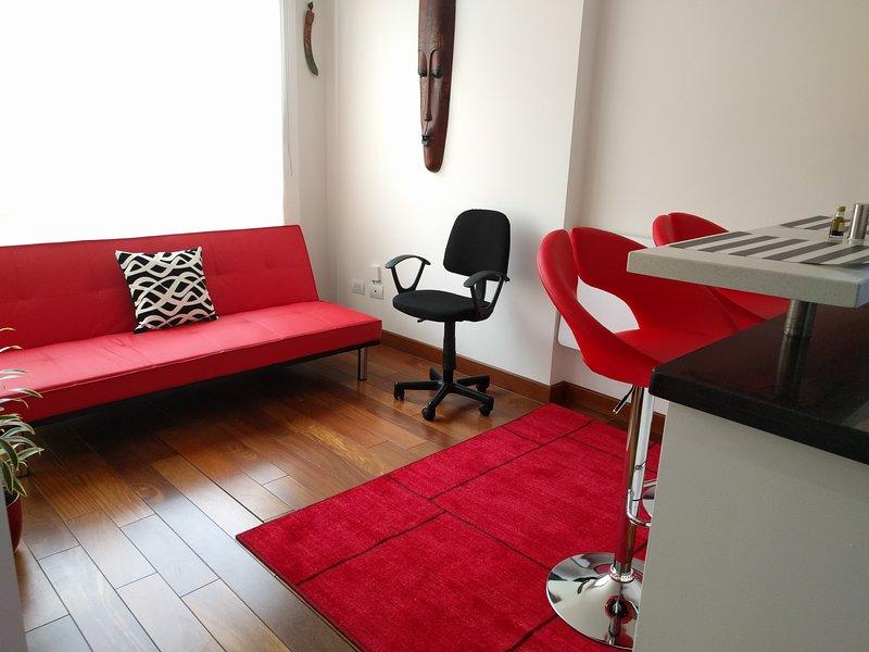 Wohnzimmer - Schlafsofa