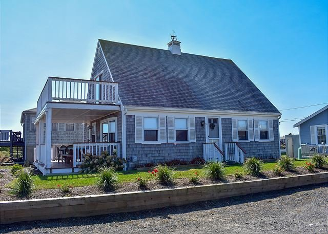 Views of Swan River and Nantucket Sound-100 yards from South Village Beach, vacation rental in West Dennis