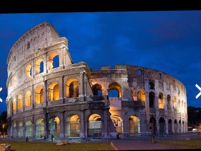 Colosseum, 12 minutes by walk from my flat